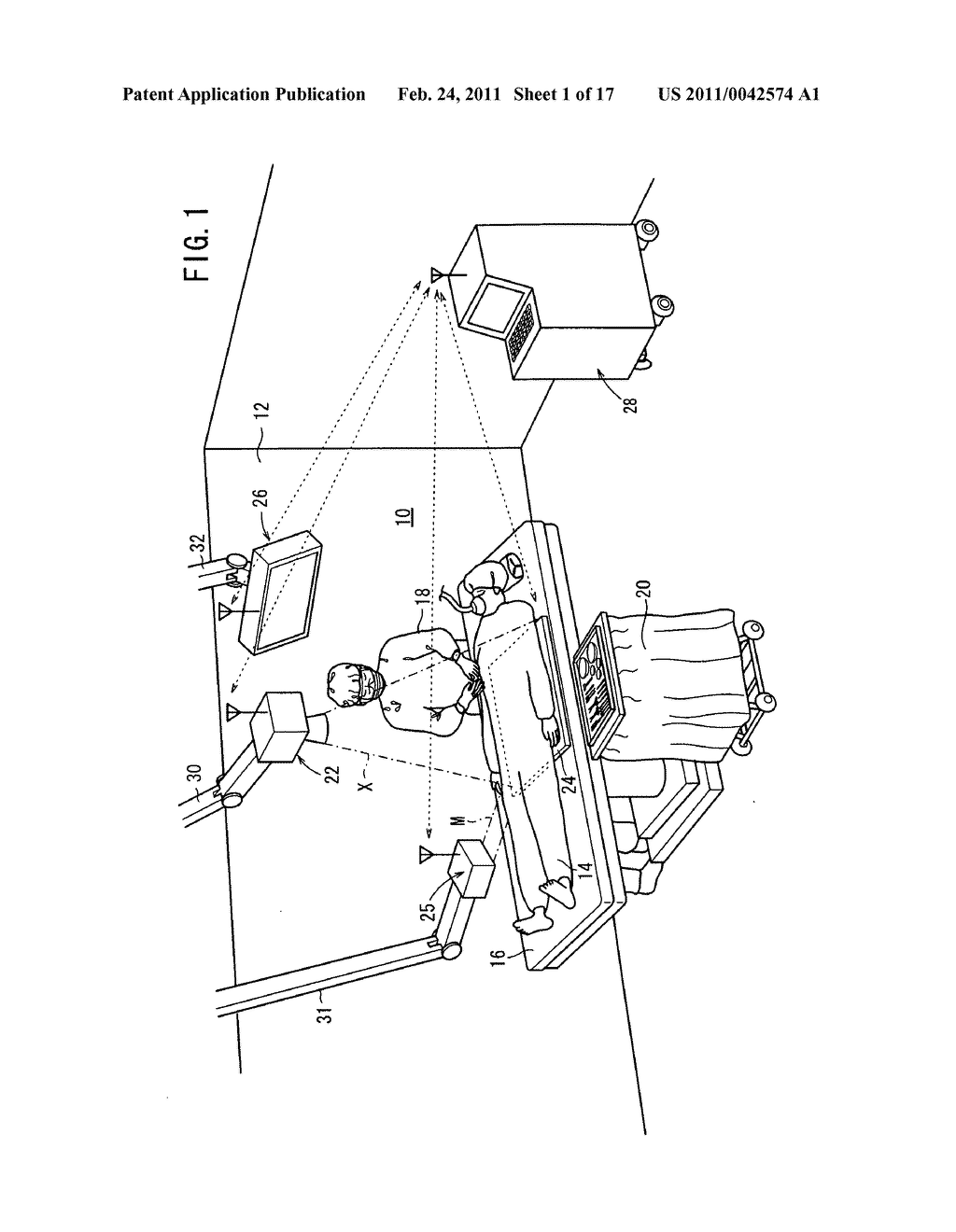Radiation detecting apparatus, radiographic image capturing system, and radiographic image capturing method - diagram, schematic, and image 02
