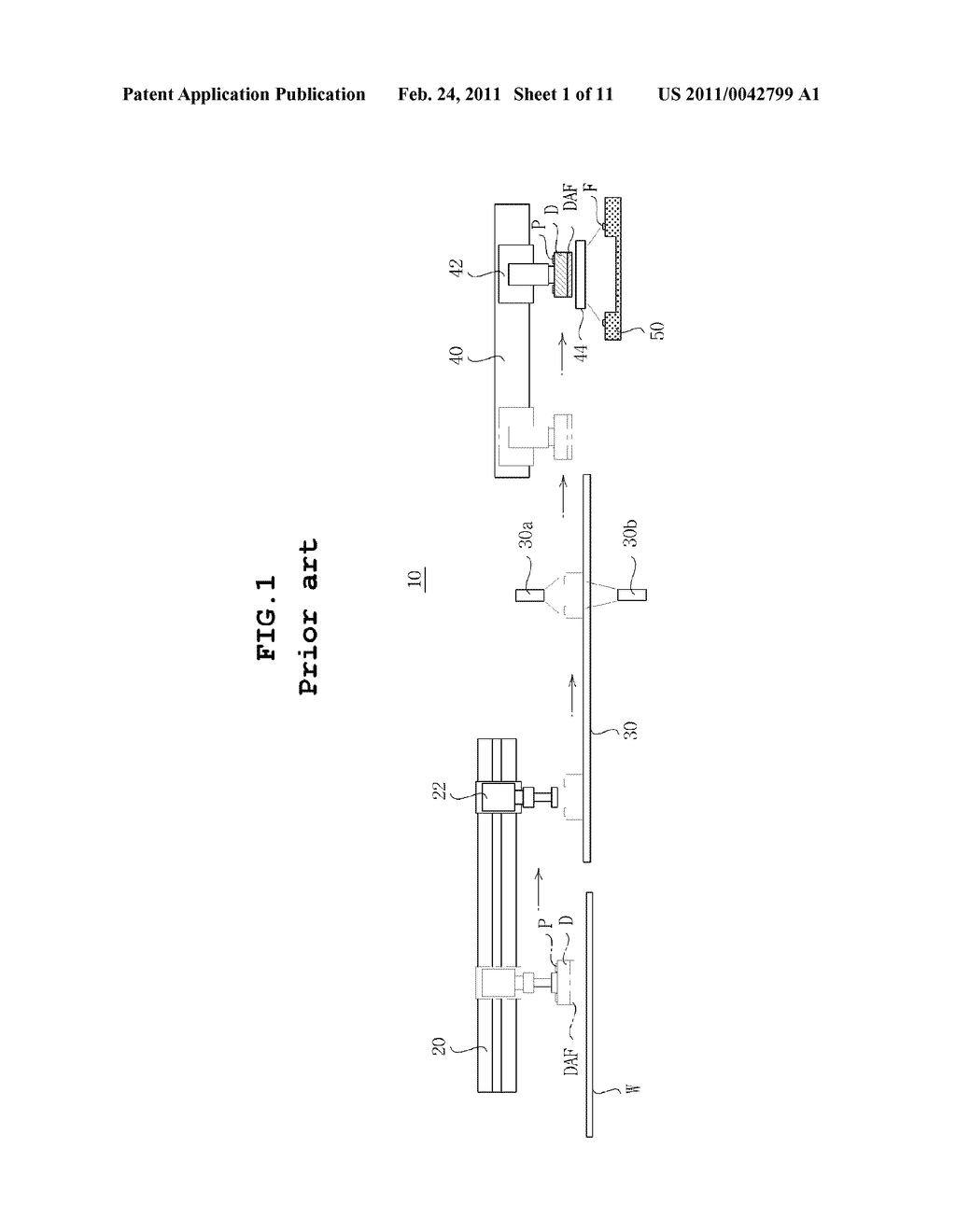 DIE PACKAGE AND METHOD OF MANUFACTURING THE SAME - diagram, schematic, and image 02