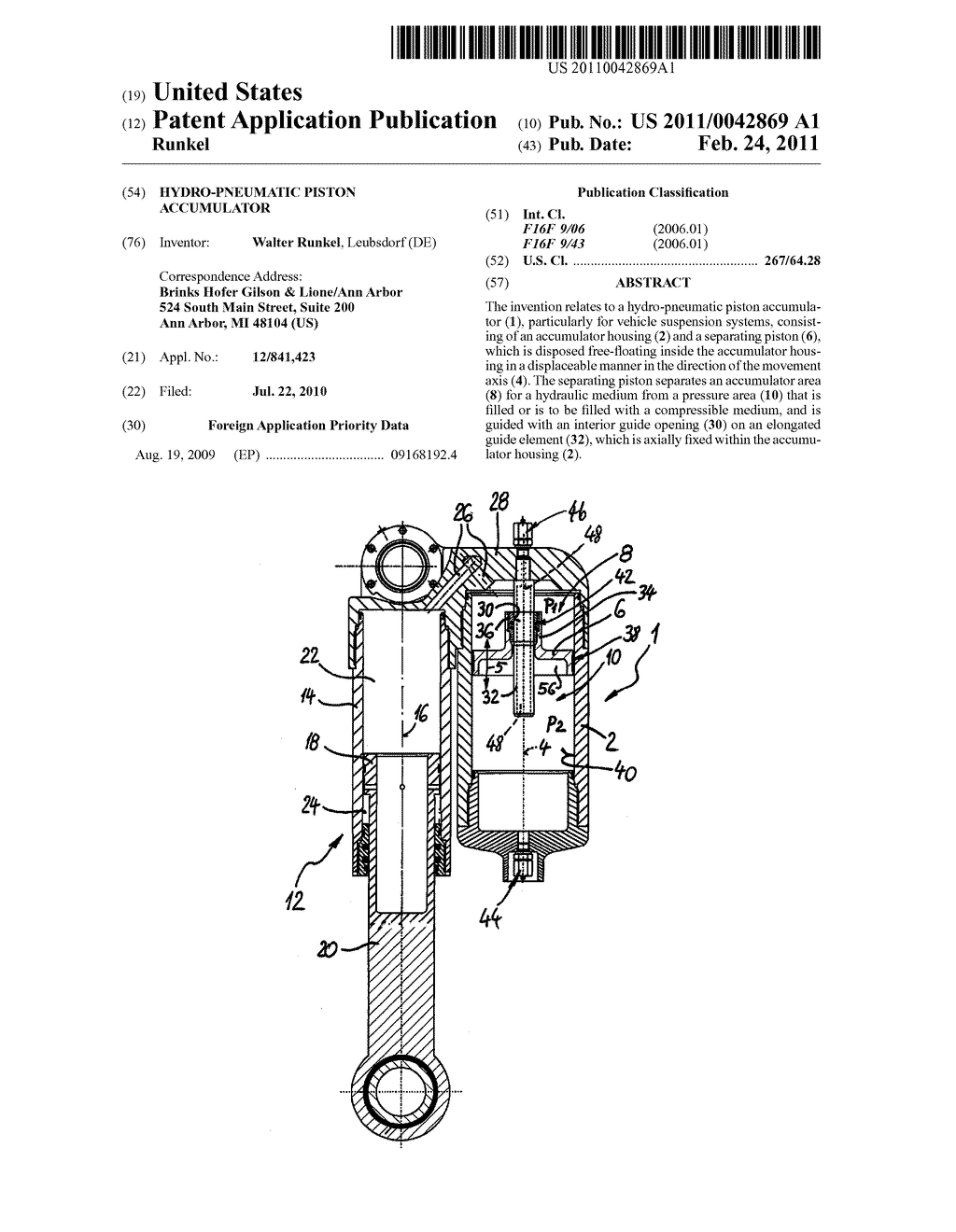 hydro pneumatic piston accumulator diagram, schematic, and image 01