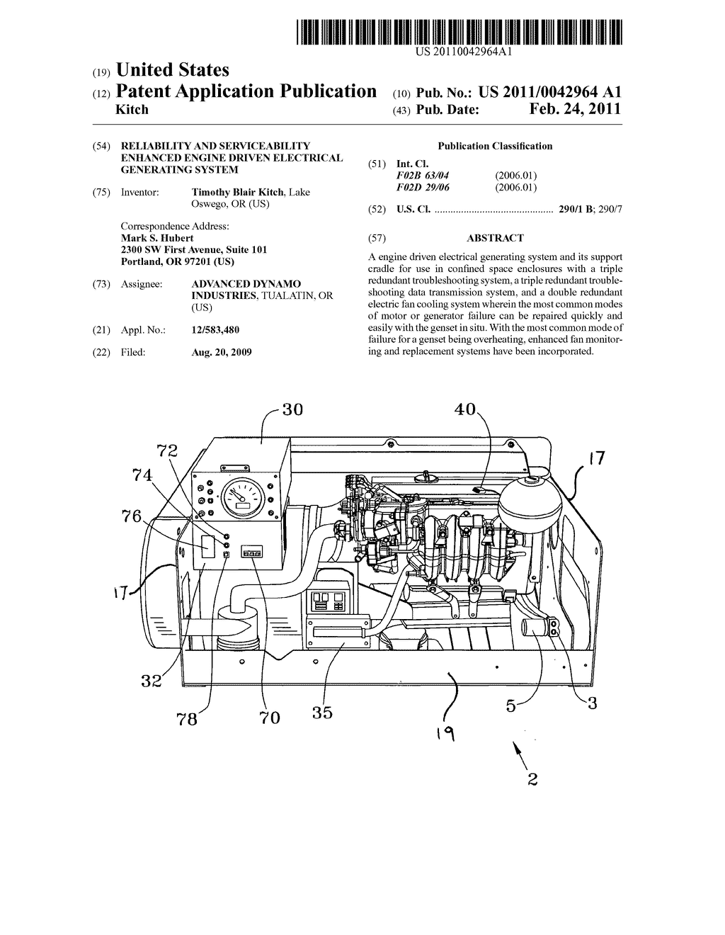 Reliability and serviceability enhanced engine driven electrical generating system - diagram, schematic, and image 01