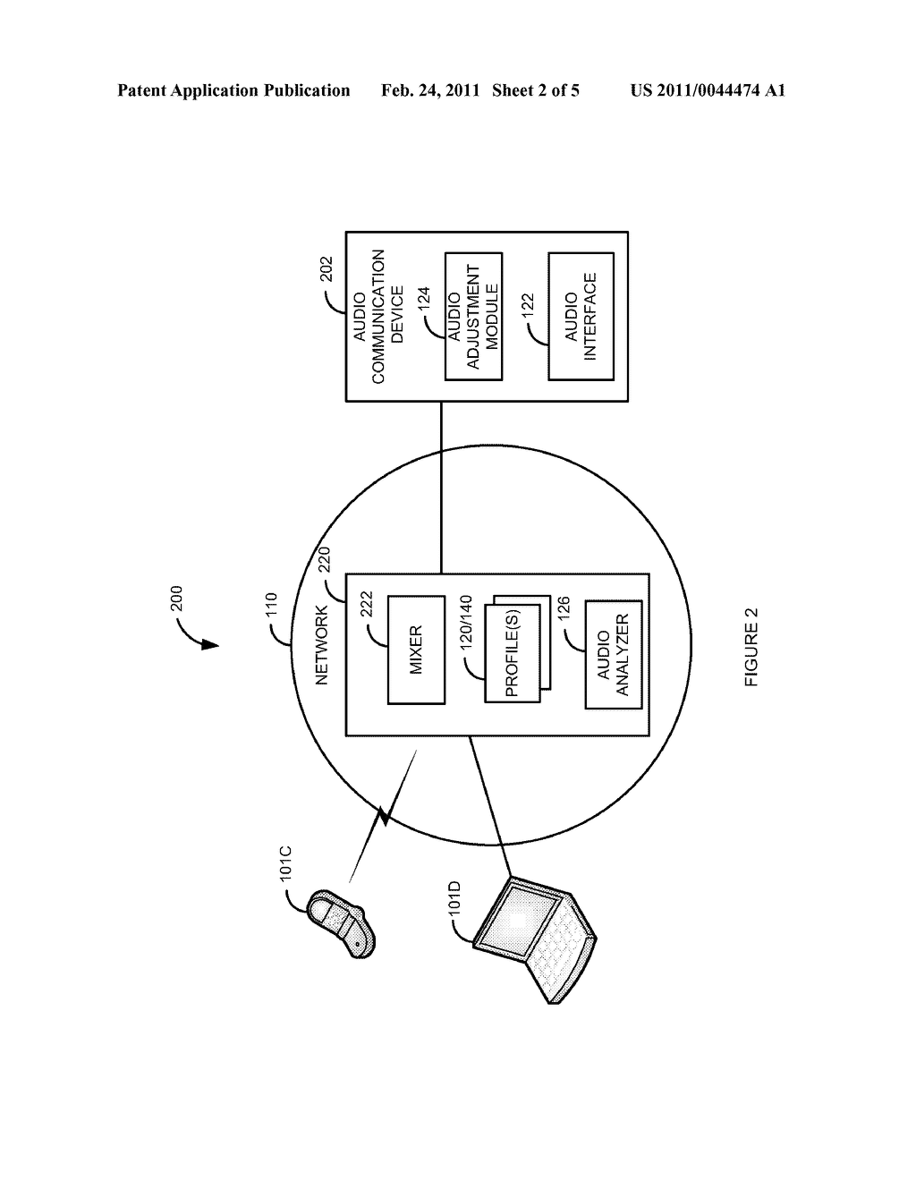 System and Method for Adjusting an Audio Signal Volume Level Based on Whom is Speaking - diagram, schematic, and image 03