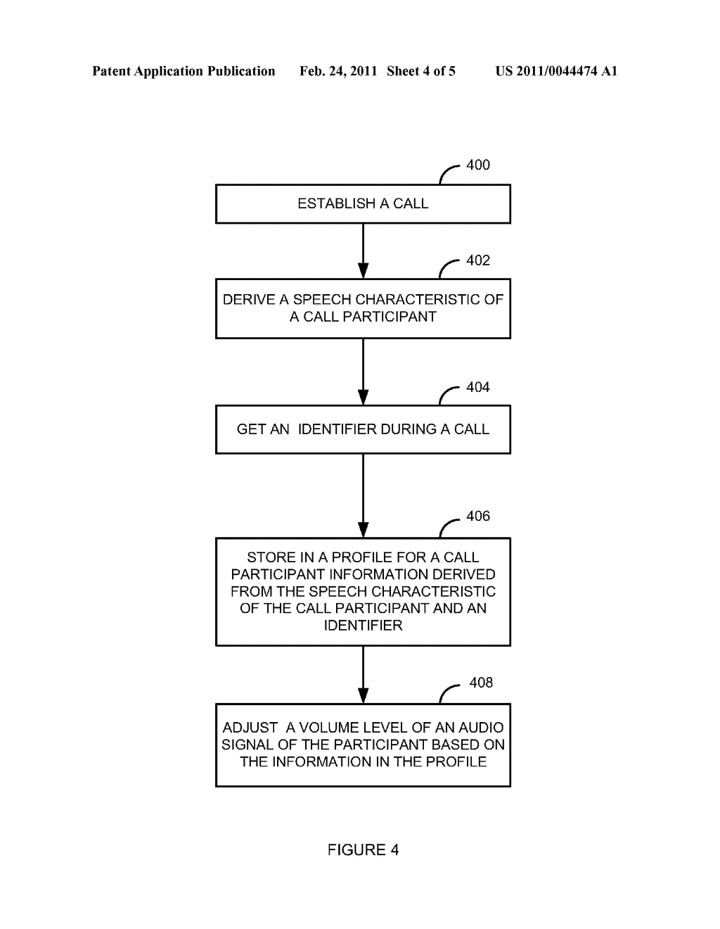 System and Method for Adjusting an Audio Signal Volume Level Based on Whom is Speaking - diagram, schematic, and image 05