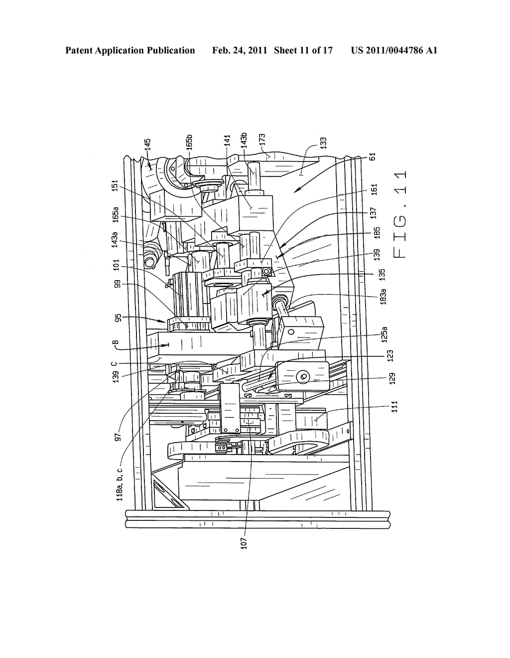 APPARATUS FOR AND METHOD OF CLAMPING AND TRIMMING A PERFECT BOUND BOOK - diagram, schematic, and image 12