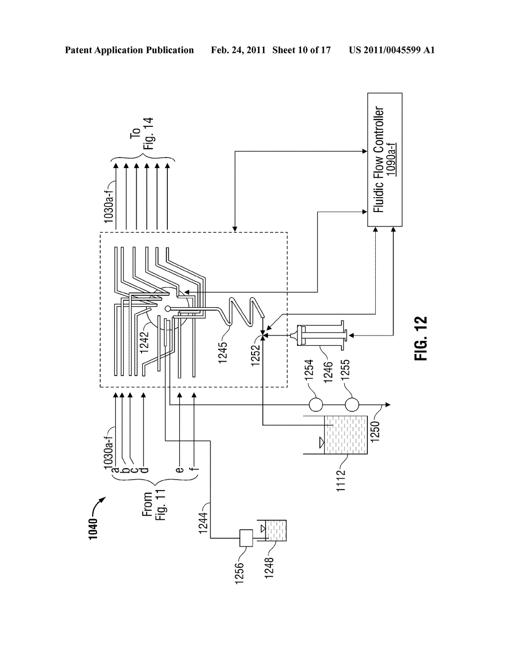 System and Method for Regulating Flow in Fluidic Devices - diagram, schematic, and image 11