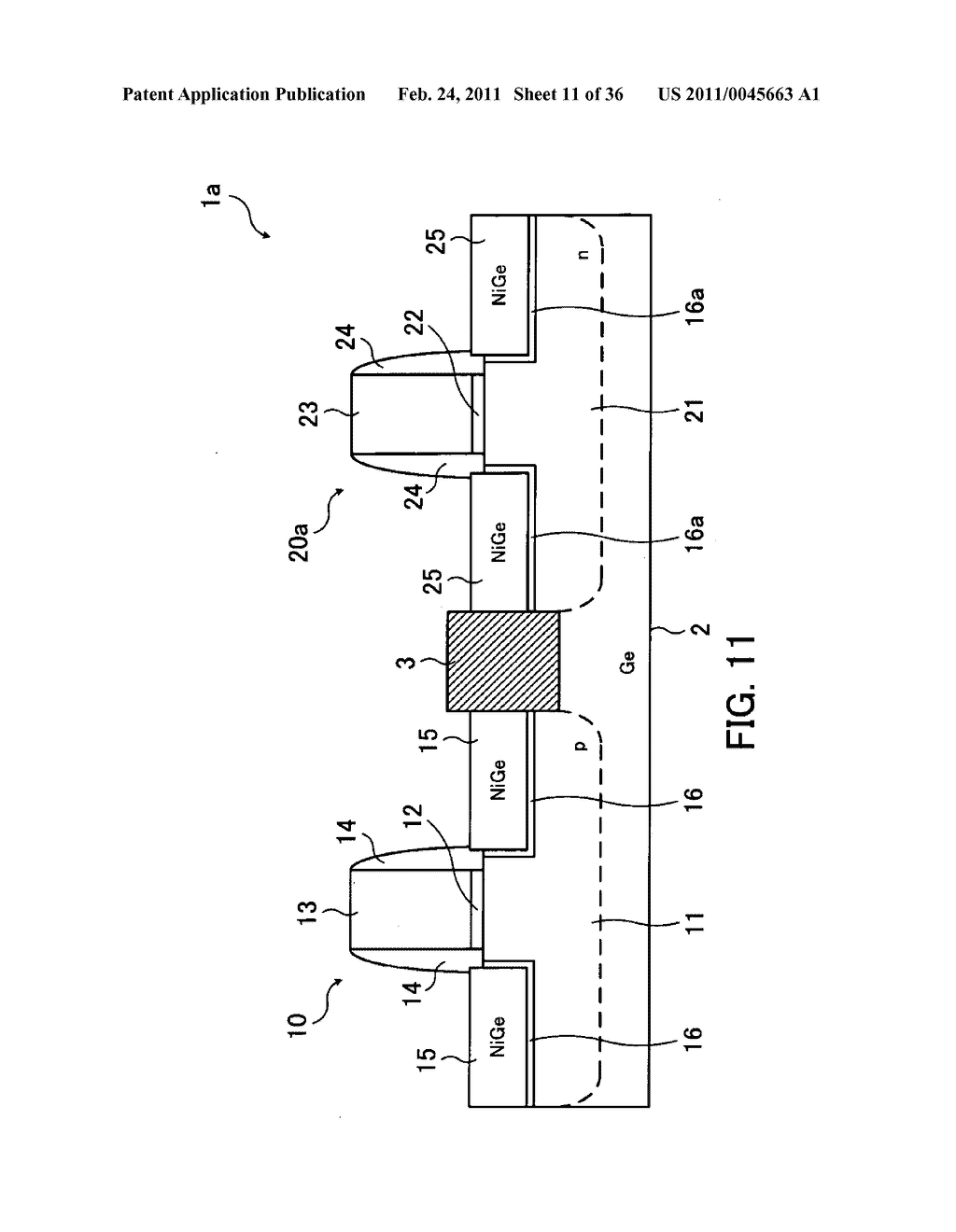 Field-effect transistor and method for fabricating the same - diagram, schematic, and image 12