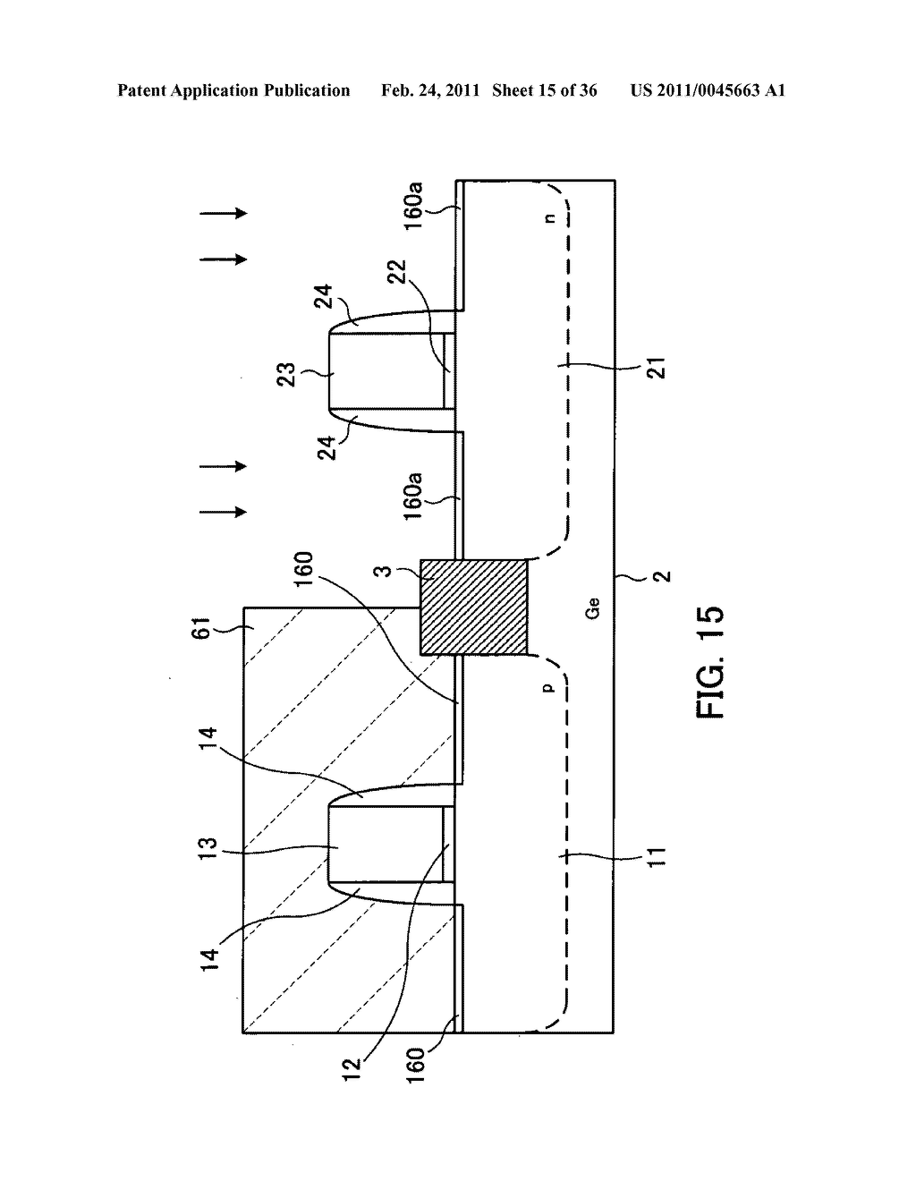 Field-effect transistor and method for fabricating the same - diagram, schematic, and image 16