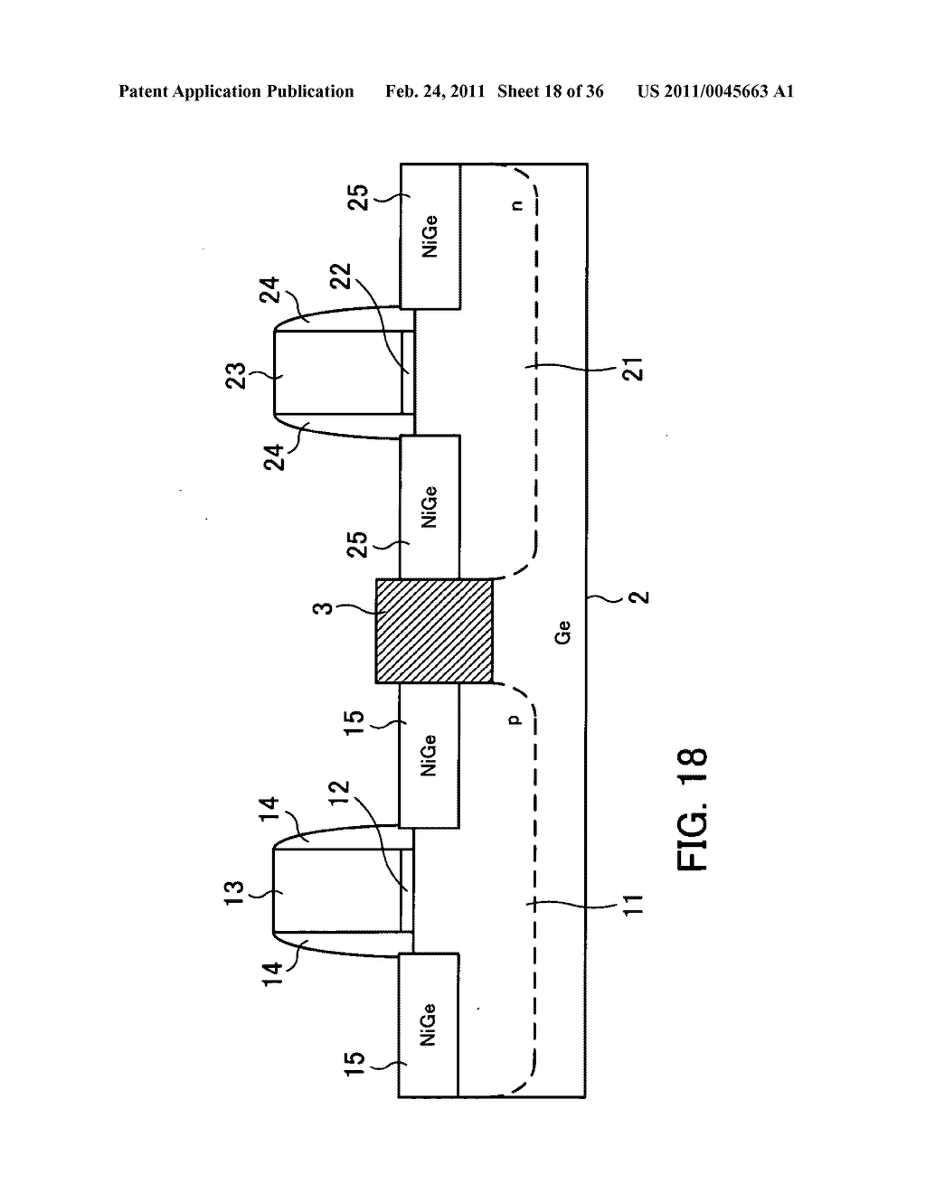 Field-effect transistor and method for fabricating the same - diagram, schematic, and image 19