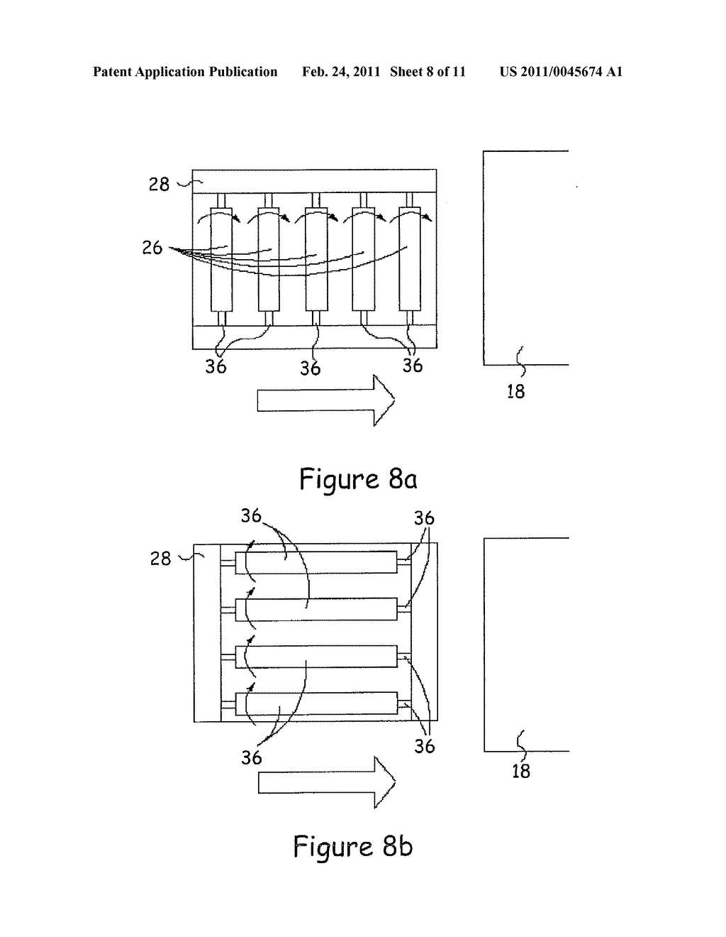METHOD AND APPARATUS FOR INLINE DEPOSITION OF MATERIALS ON A NON-PLANAR SURFACE - diagram, schematic, and image 09