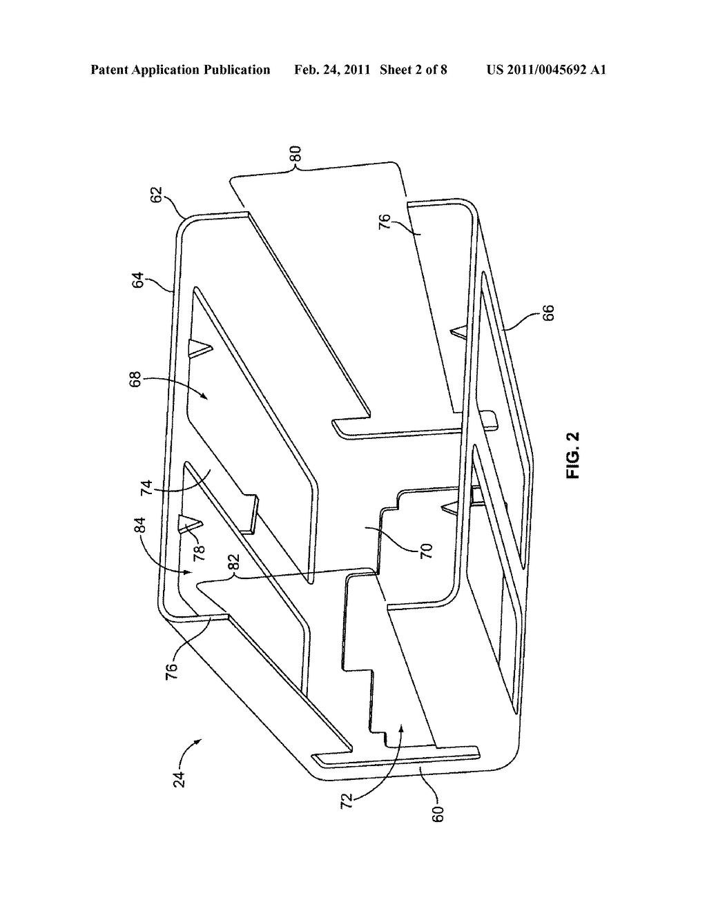 CONNECTOR ASSEMBLY FOR A COMPRESSIBLE GASKET - diagram, schematic, and image 03