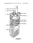 PORTABLE RADIO WITH AUTOMATIC MOTION SENSING AND EMERGENCY ALERT FACILITY diagram and image