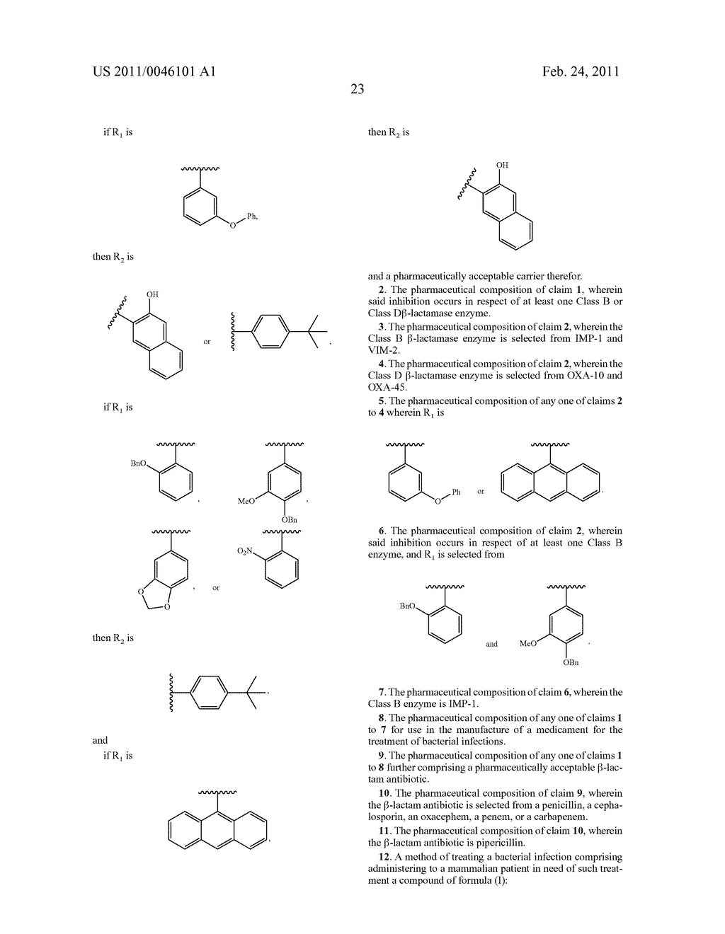 BATE-LACTAMASE INHIBITORS - diagram, schematic, and image 27