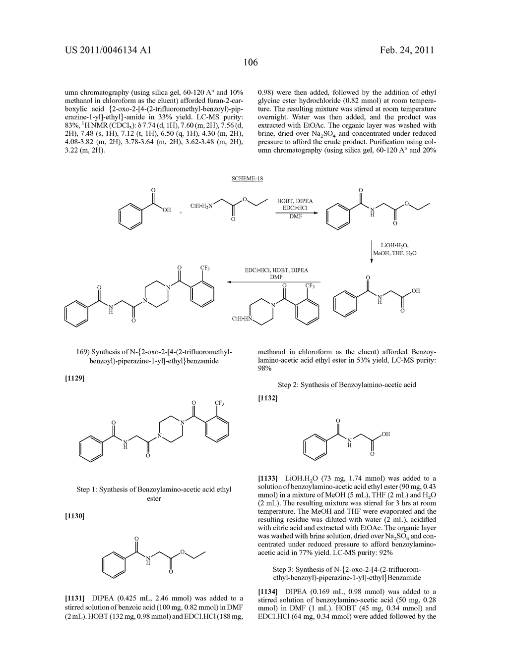 NOVEL PIPERAZINE DERIVATIVES AS INHIBITORS OF STEAROYL-CoA DESATURASE - diagram, schematic, and image 107