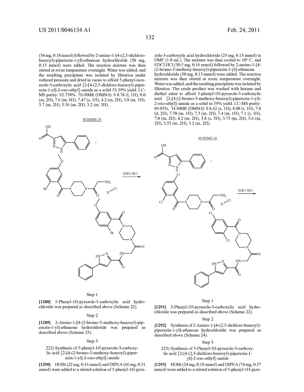 NOVEL PIPERAZINE DERIVATIVES AS INHIBITORS OF STEAROYL-CoA DESATURASE - diagram, schematic, and image 133