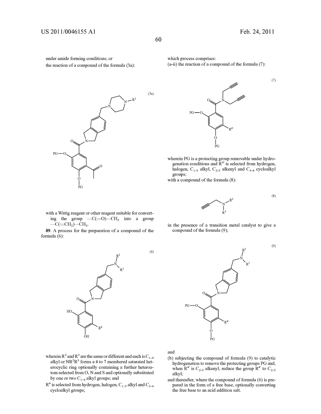 HYDROBENZAMIDE DERIVATIVES AS INHIBITORS OF HSP90 - diagram, schematic, and image 73