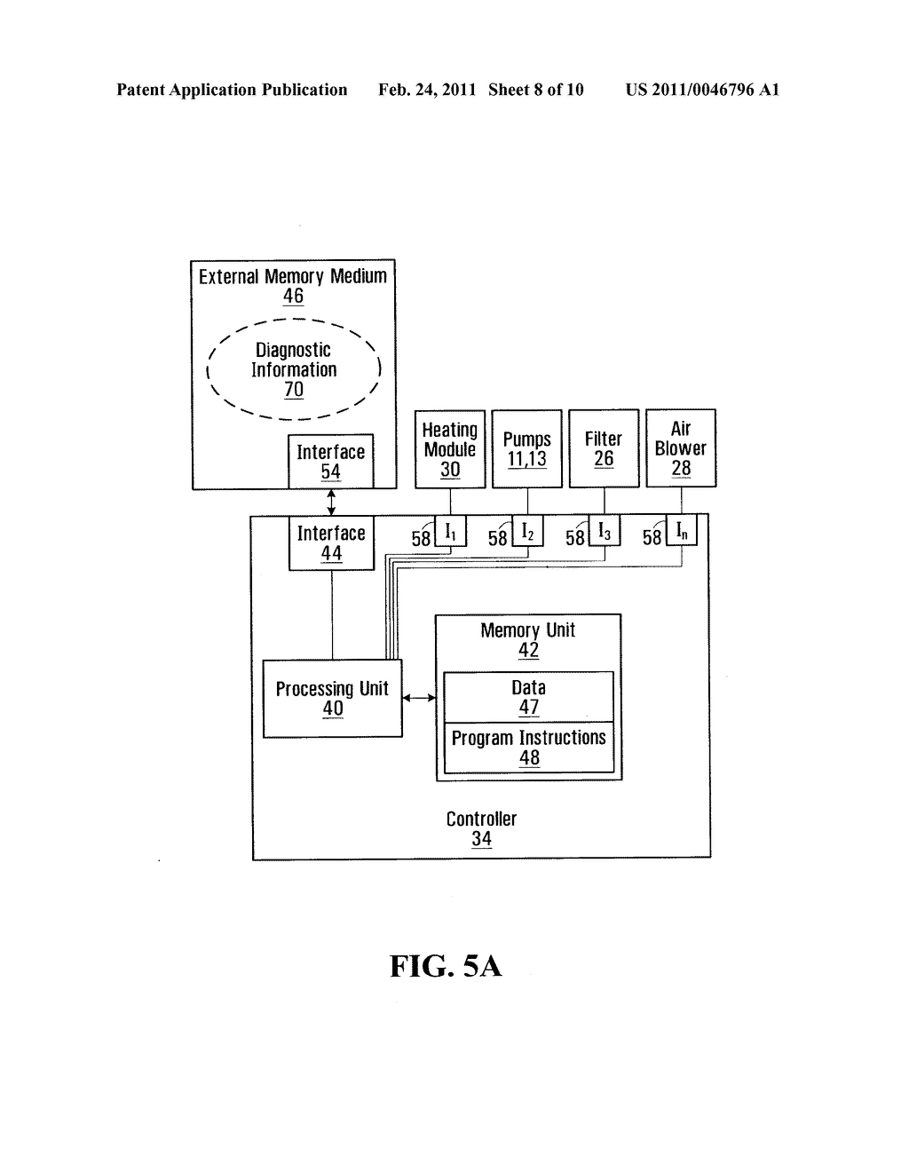 METHOD, DEVICE AND SYSTEM FOR USE IN CONFIGURING A BATHING UNIT CONTROLLER - diagram, schematic, and image 09
