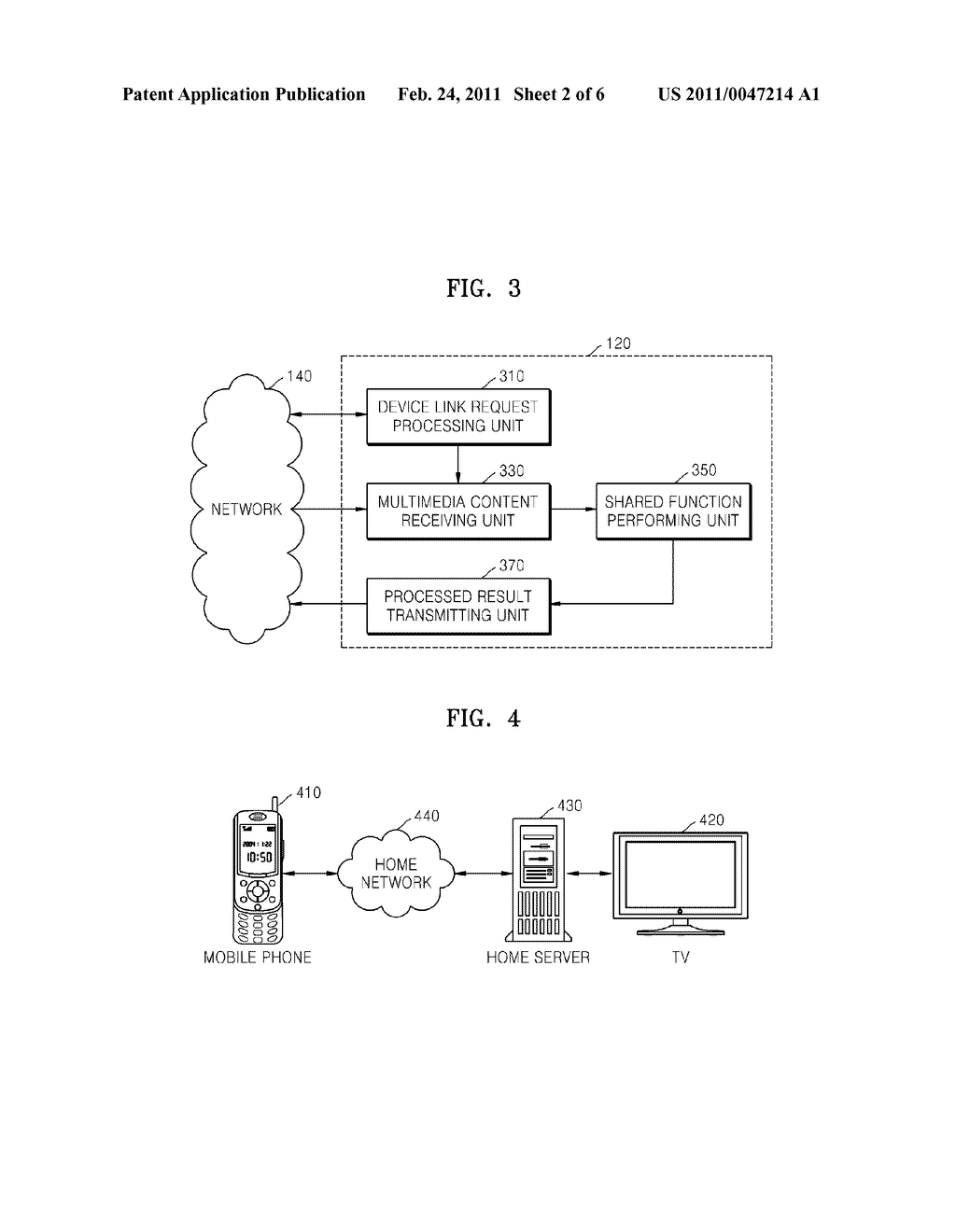 METHOD AND APPARATUS FOR SHARING FUNCTIONS BETWEEN DEVICES VIA A NETWORK - diagram, schematic, and image 03