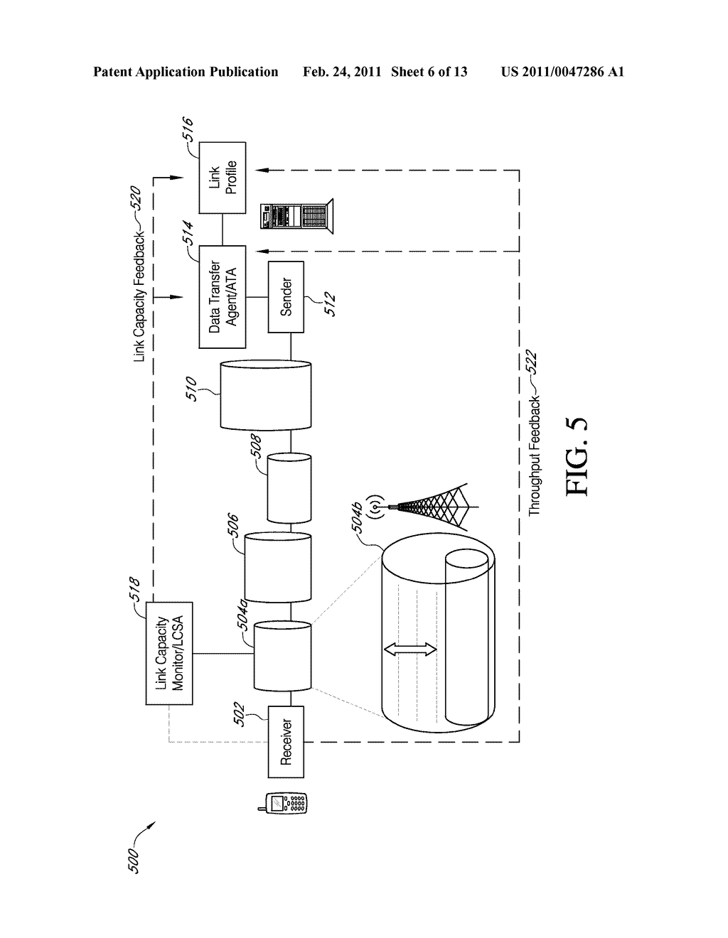 SYSTEMS AND METHODS FOR ENHANCED DATA DELIVERY BASED ON REAL TIME ANALYSIS OF NETWORK COMMUNICATIONS QUALITY AND TRAFFIC - diagram, schematic, and image 07