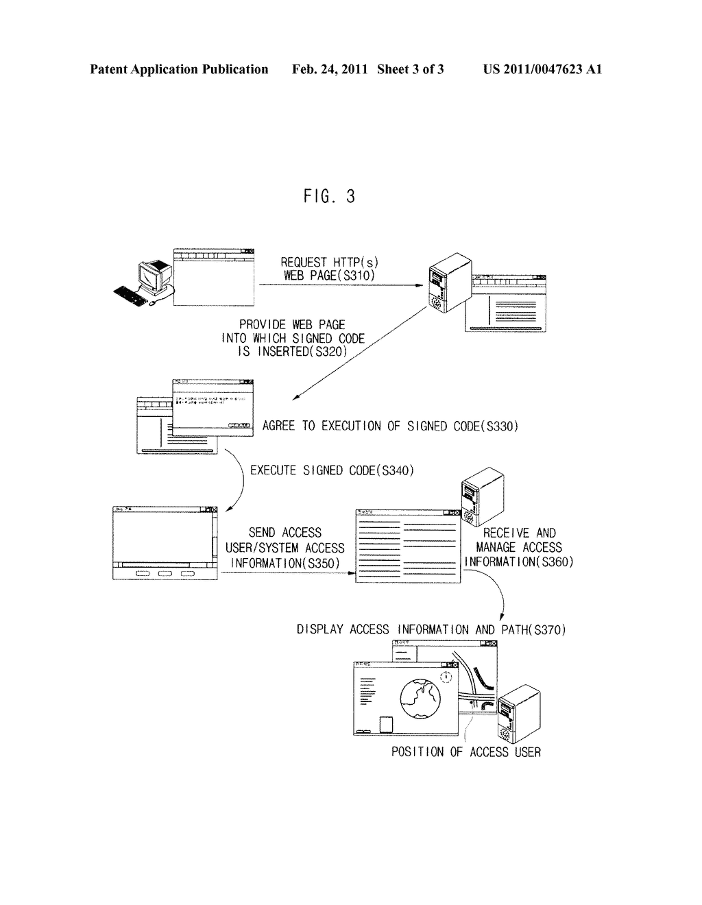 APPARATUS AND METHOD FOR TRACING WEB USER USING SIGNED CODE - diagram, schematic, and image 04