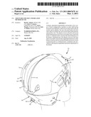 ADJUSTABLE HELMET AND RELATED METHOD OF USE diagram and image