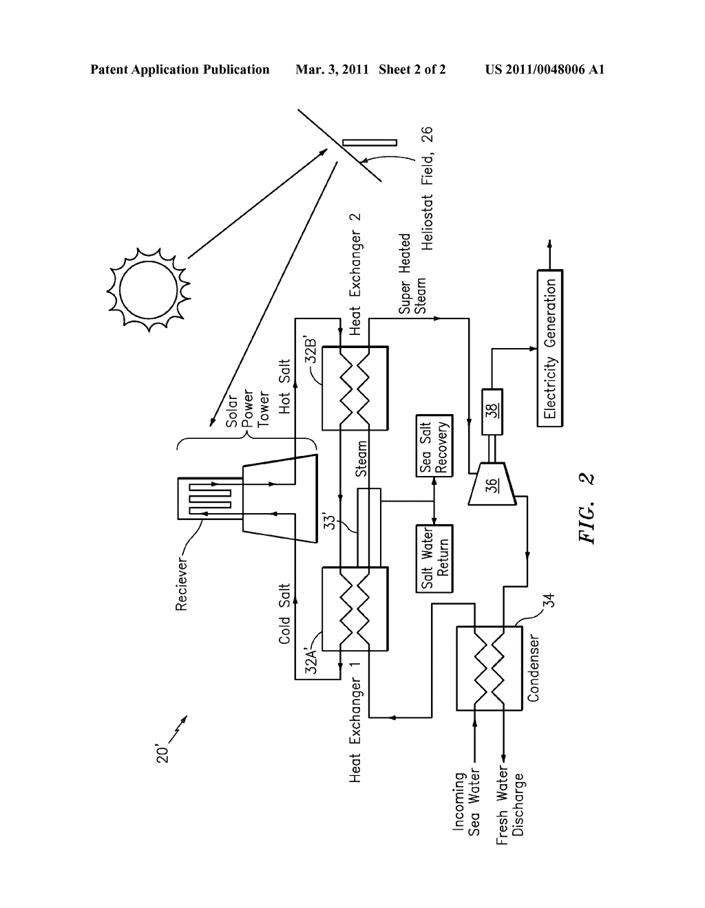 SOLAR DESALINIZATION PLANT - diagram, schematic, and image 03