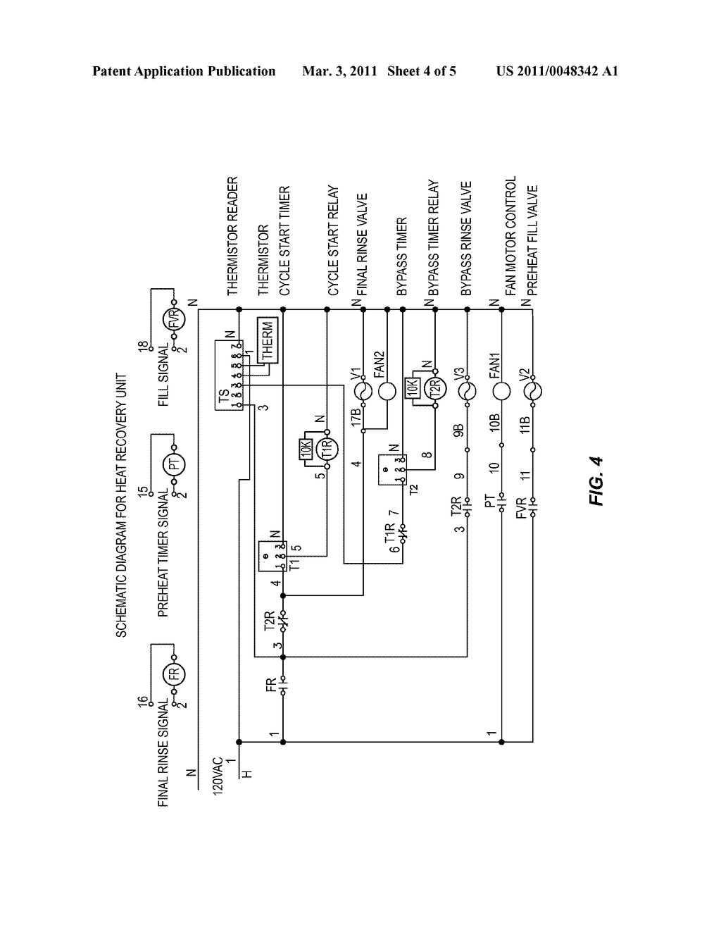 Heat Exchanger Water Heating System For Commercial Dishwasher Schematic Diagram And Image 05