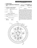 ADJUSTABLE CAMSHAFT SPROCKET ASSEMBLY AND TOOL FOR SAME diagram and image