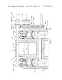 Combination Piston and Variable Blade Turbine Internal Combustion Engine diagram and image