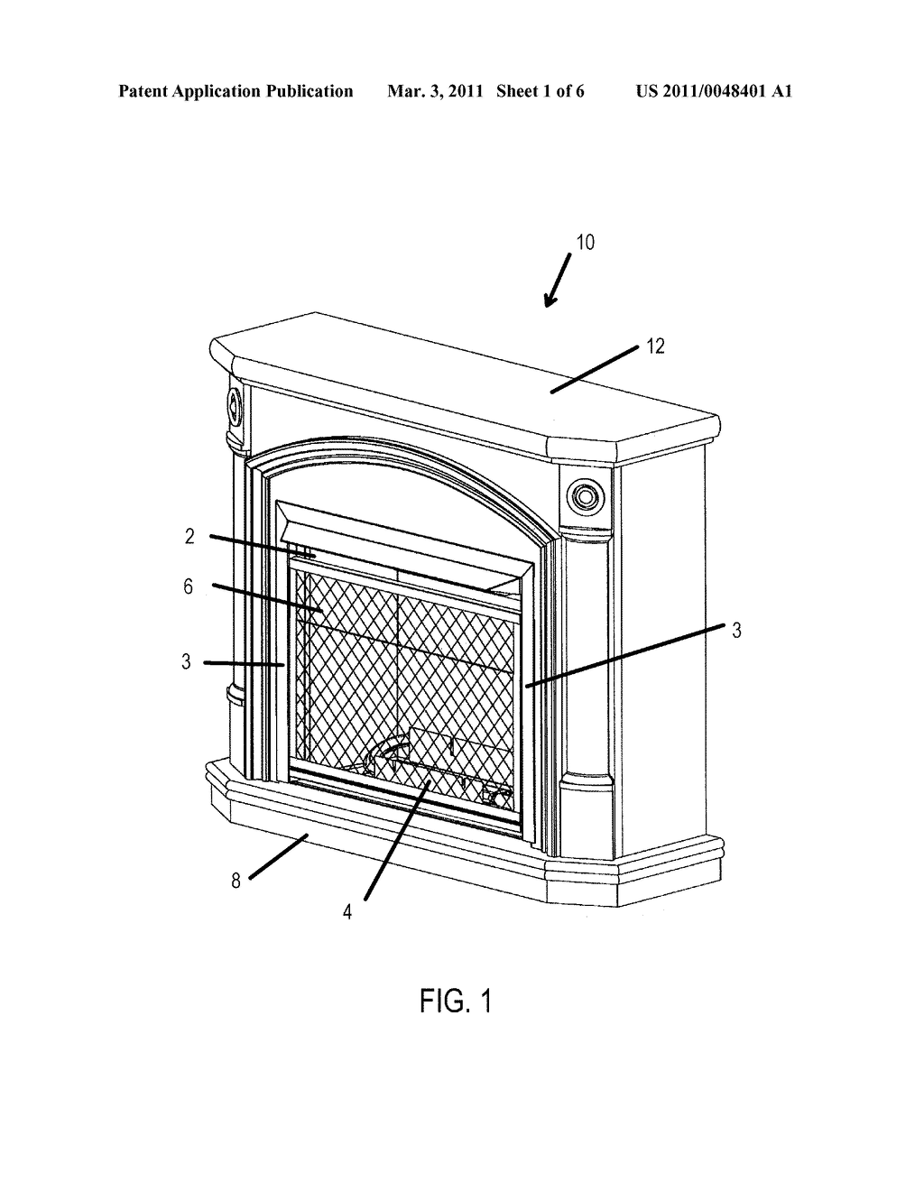 GAS FIREPLACE - diagram, schematic, and image 02