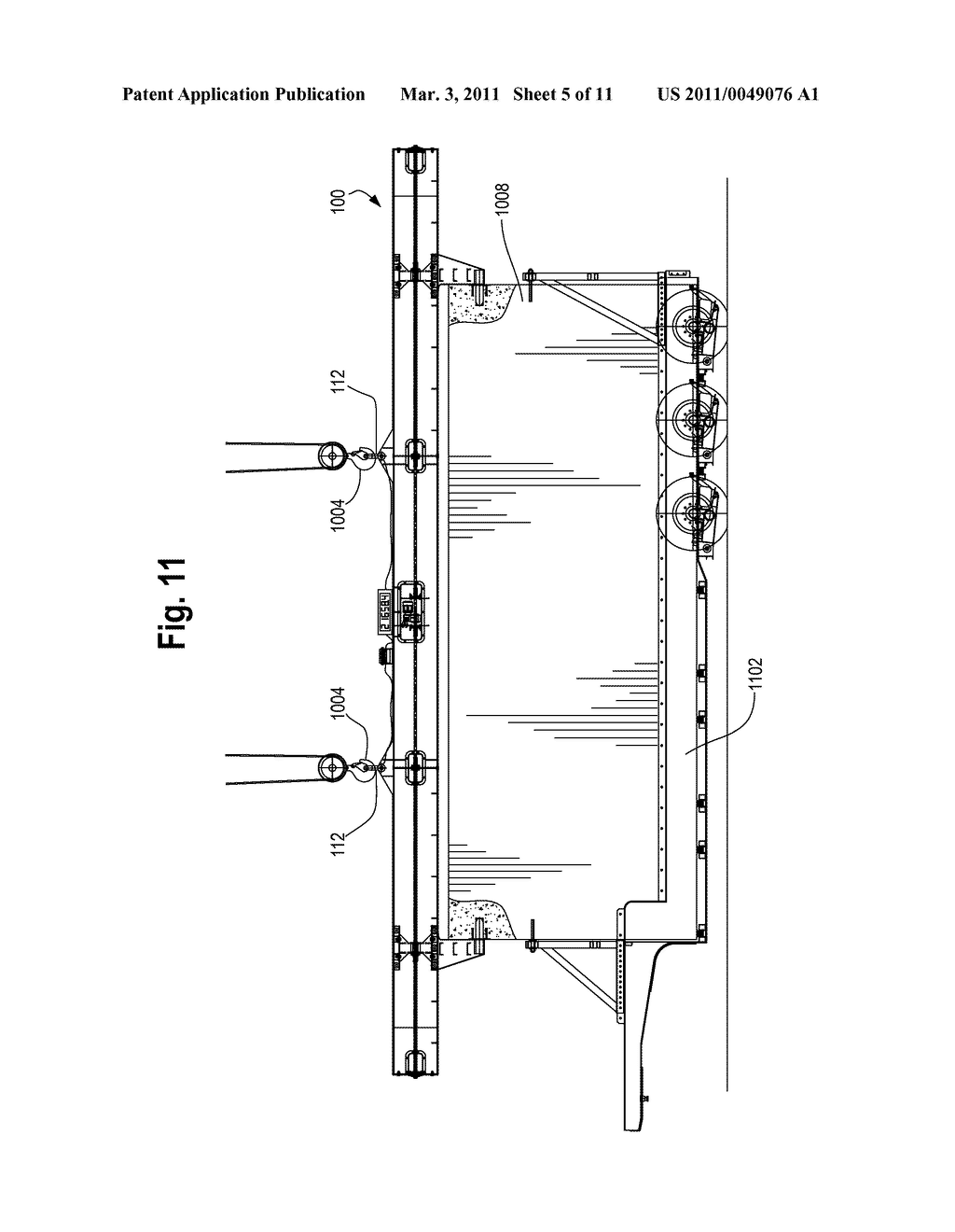 Method and Apparatus for Vertically Orienting Precast Concrete Wall Panels - diagram, schematic, and image 06