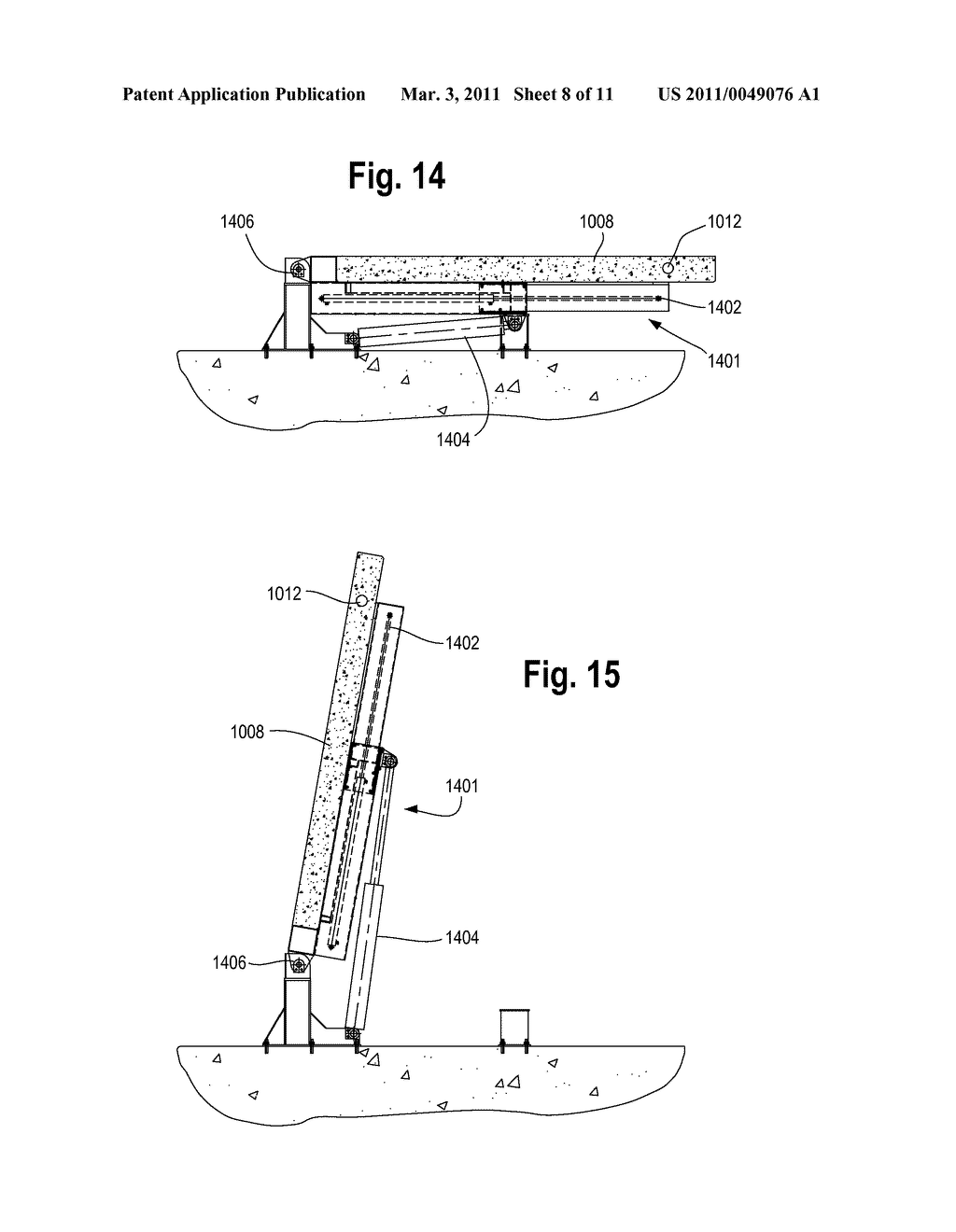 Method and Apparatus for Vertically Orienting Precast Concrete Wall Panels - diagram, schematic, and image 09