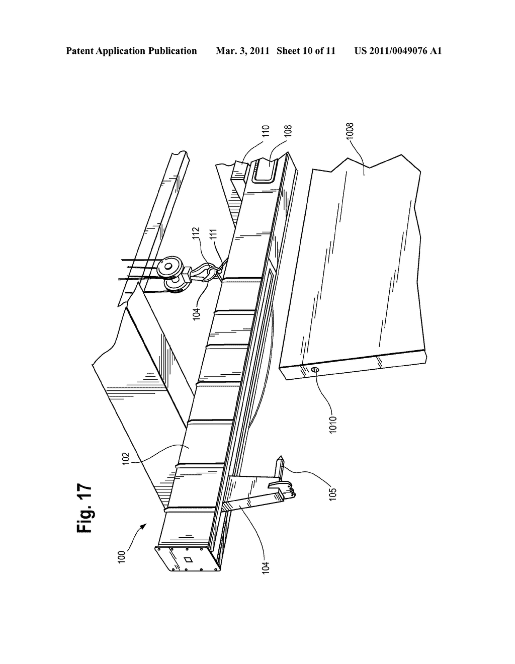 Method and Apparatus for Vertically Orienting Precast Concrete Wall Panels - diagram, schematic, and image 11