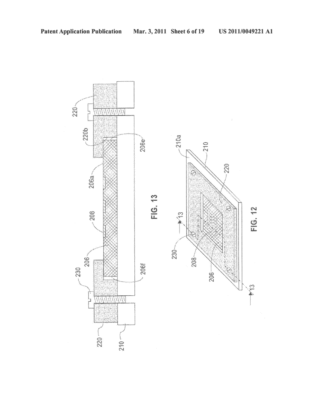 METHOD OF JOINING A CHIP ON A SUBSTRATE - diagram, schematic, and image 07