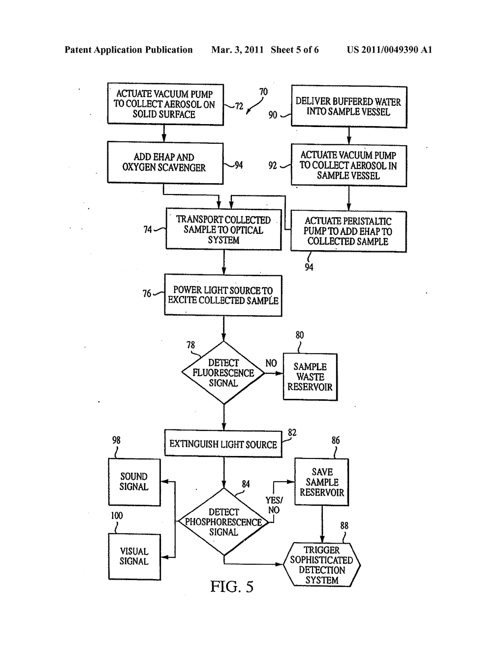 Method and Apparatus for Detection of Bioaerosols - diagram, schematic, and image 06