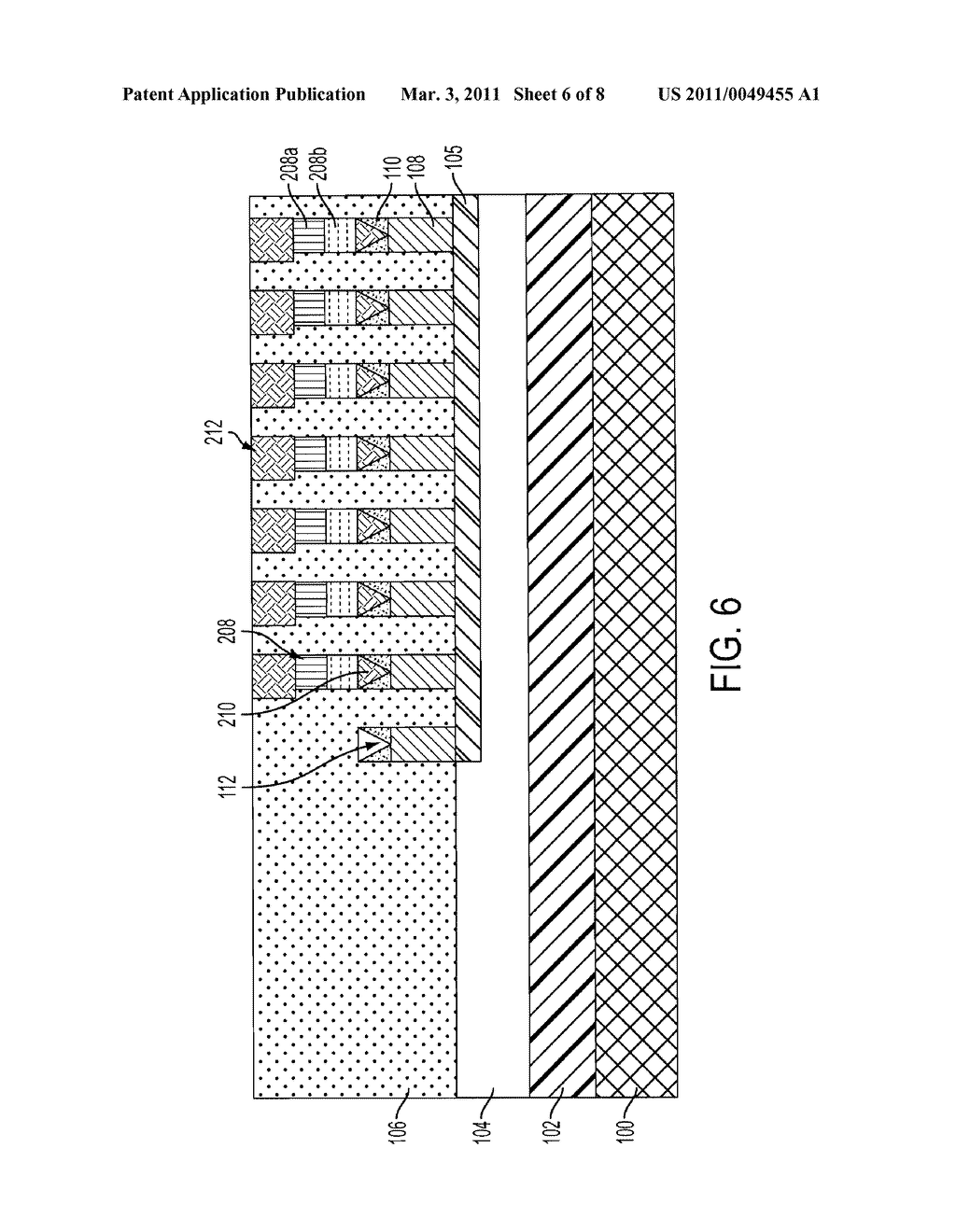 WAFER BONDED ACCESS DEVICE FOR MULTI-LAYER PHASE CHANGE MEMORY USING LOCK-AND-KEY ALIGNMENT - diagram, schematic, and image 07