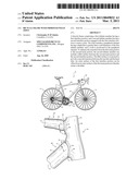 BICYCLE FRAME WITH IMPROVED WELD JOINT diagram and image