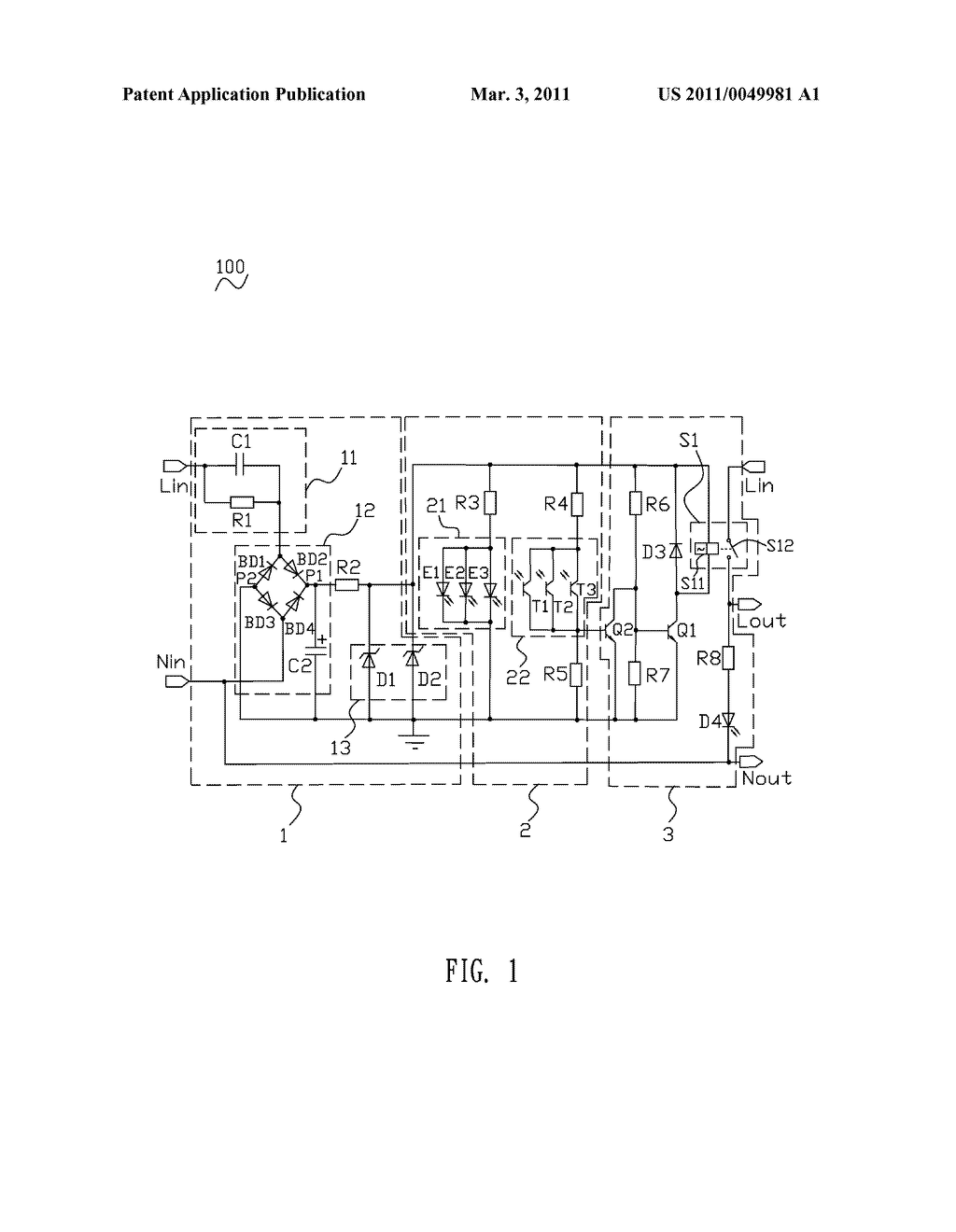 Electric Shock Proof Socket Circuit - diagram, schematic, and image 02
