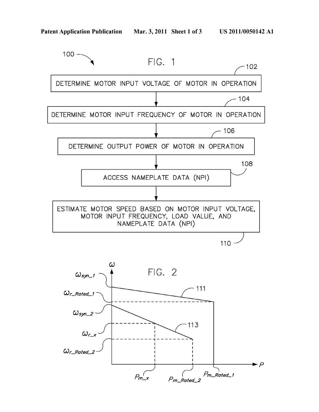 SYSTEM AND METHOD FOR MOTOR SPEED ESTIMATION OF AN ELECTRIC MOTOR - diagram, schematic, and image 02