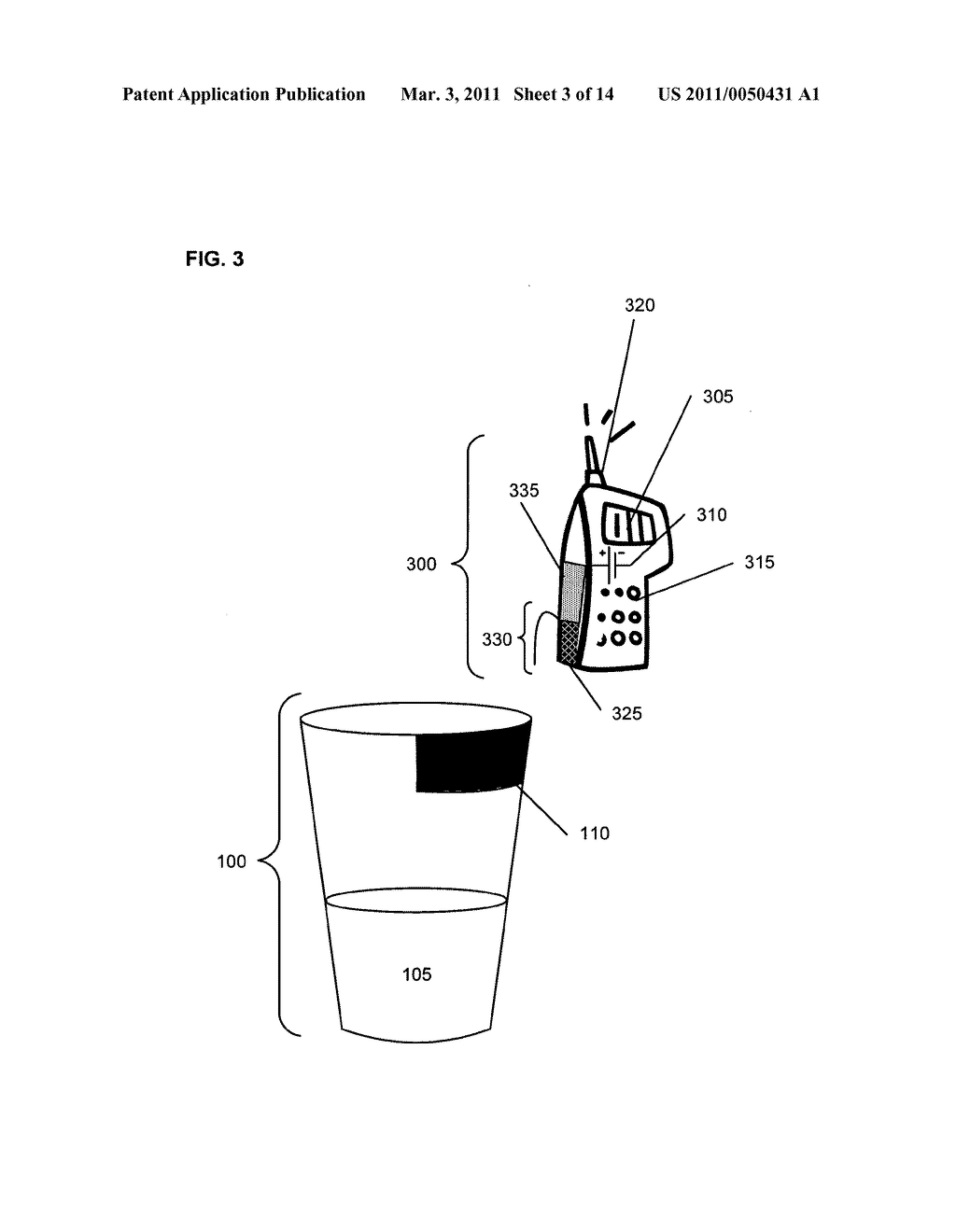 Beverage containers with detection capability - diagram, schematic, and image 04