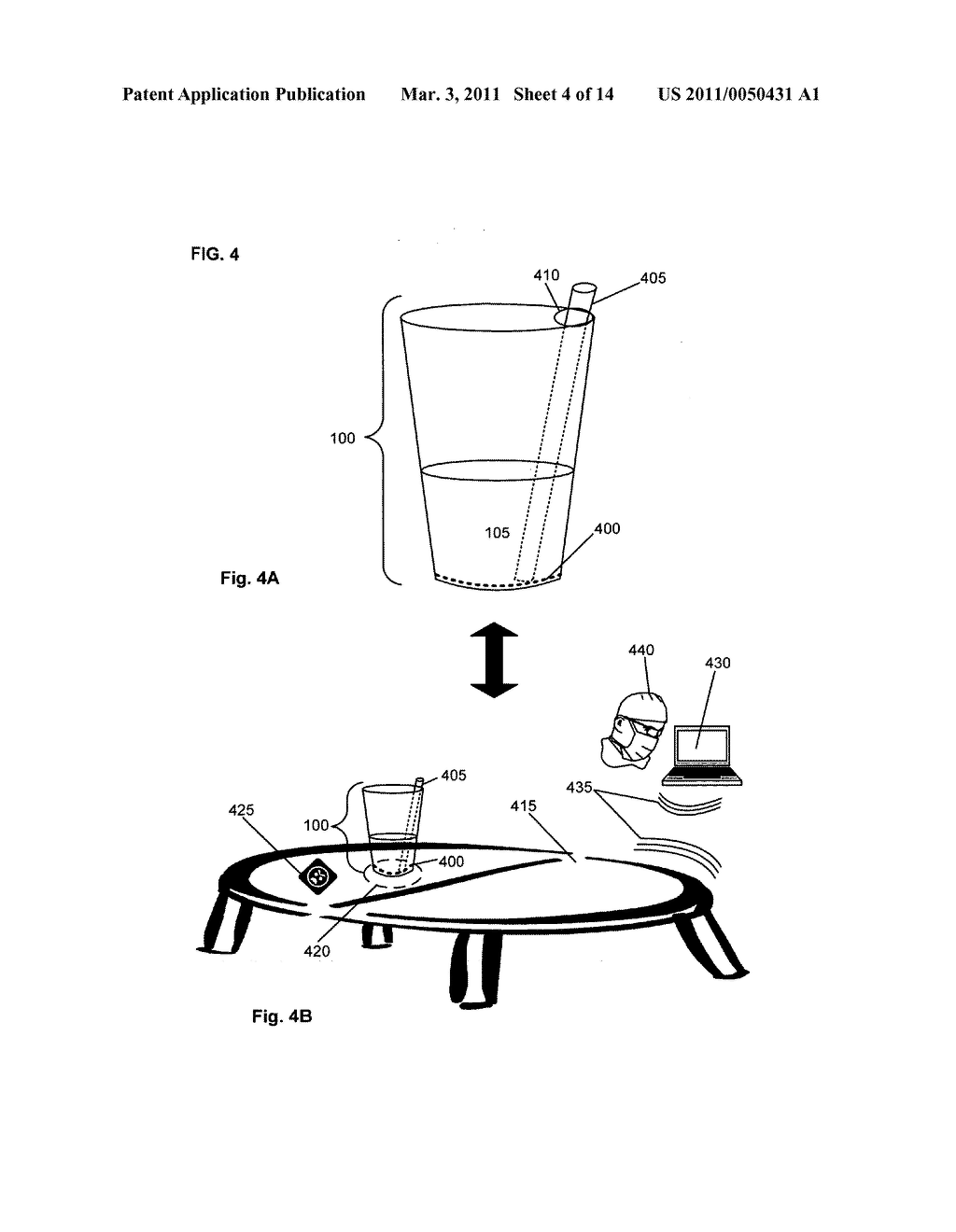 Beverage containers with detection capability - diagram, schematic, and image 05