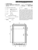 LIQUID CRYSTAL DISPLAY PANEL diagram and image