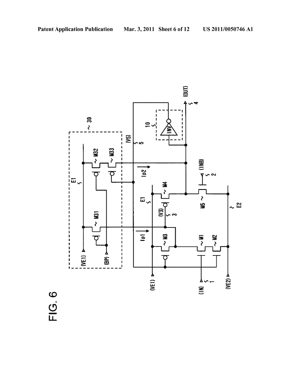 LEVEL SHIFT CIRCUIT, AND DRIVER AND DISPLAY DEVICE USING THE SAME - diagram, schematic, and image 07