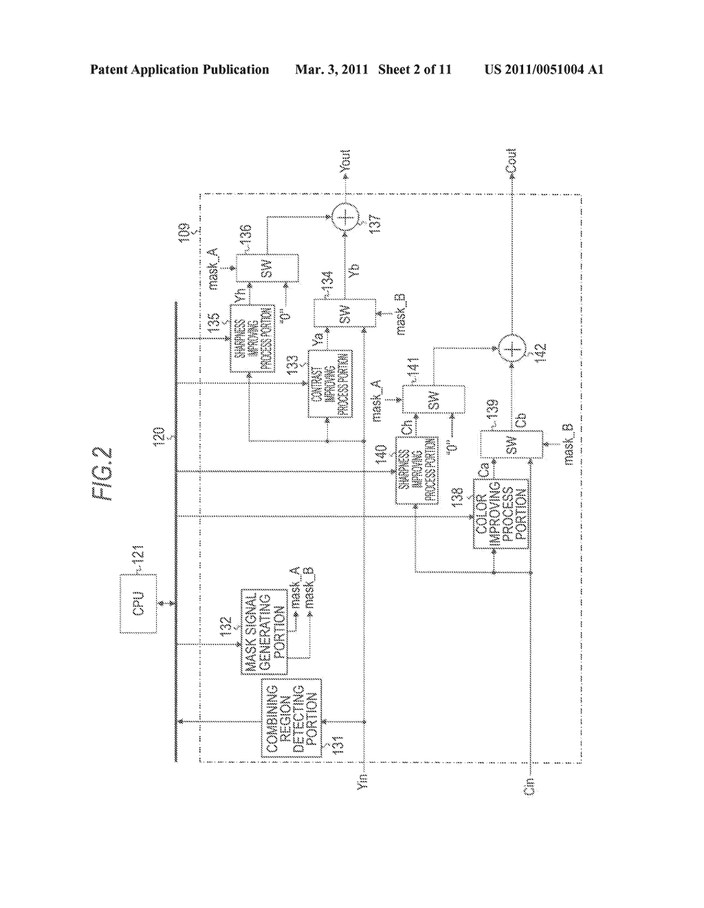 VIDEO SIGNAL PROCESSING APPARATUS AND METHOD AND PROGRAM FOR PROCESSING VIDEO SIGNALS - diagram, schematic, and image 03