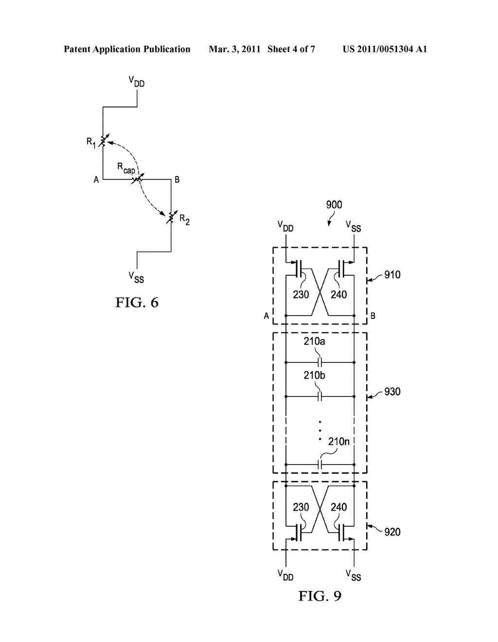 DEFECTIVITY-IMMUNE TECHNIQUE OF IMPLEMENTING MIM-BASED DECOUPLING CAPACITORS - diagram, schematic, and image 05