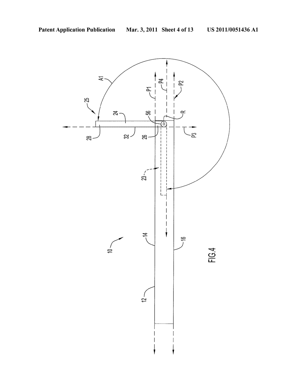 Drawing Assembly with Repositionable Light - diagram, schematic, and image 05