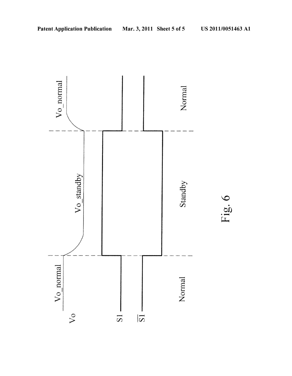 APPARATUS AND METHOD FOR STANDBY POWER REDUCTION OF A FLYBACK POWER CONVERTER - diagram, schematic, and image 06