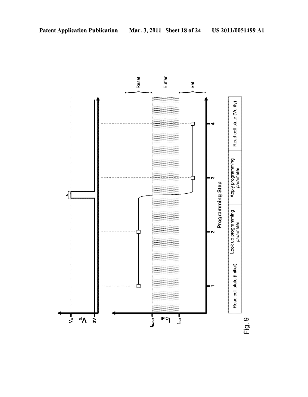 METHOD FOR ADJUSTING A RESISTIVE CHANGE ELEMENT USING A REFERENCE - diagram, schematic, and image 19