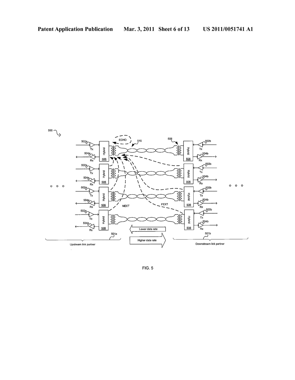 METHOD AND SYSTEM FOR AN ASYMMETRIC PHY OPERATION FOR ETHERNET A/V BRIDGING AND ETHERNET A/V BRIDGING EXTENSIONS - diagram, schematic, and image 07