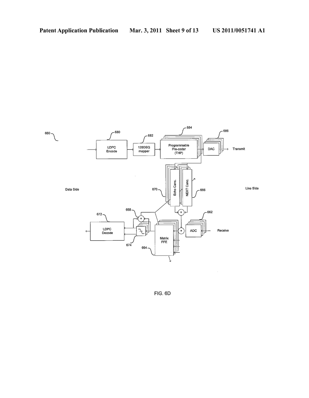 METHOD AND SYSTEM FOR AN ASYMMETRIC PHY OPERATION FOR ETHERNET A/V BRIDGING AND ETHERNET A/V BRIDGING EXTENSIONS - diagram, schematic, and image 10