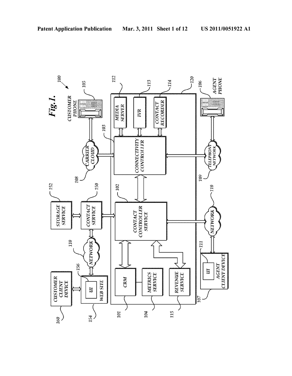 SYSTEMS AND METHODS FOR CUSTOMER CONTACT - diagram, schematic, and image 02