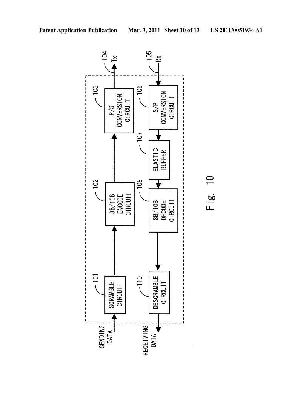 DATA RECEIVING DEVICE, DATA RECEIVING METHOD AND PROGRAM - diagram, schematic, and image 11